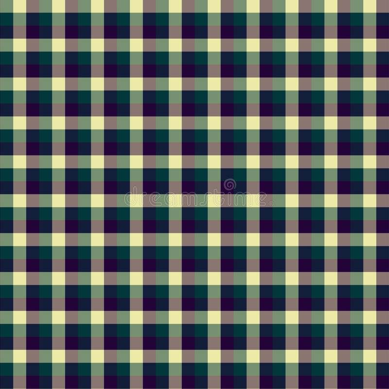 Gingham seamless violet pattern. Texture for plaid, tablecloths, clothes, shirts,dresses,paper,bedding,blankets,quilts and other. Textile products. Vector royalty free illustration