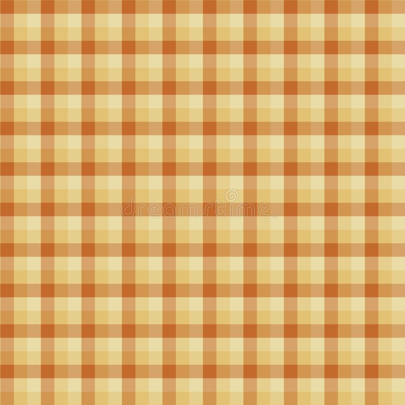 Gingham seamless yellow pattern. Texture for plaid, tablecloths, clothes, shirts,dresses,paper,bedding,blankets,quilts and other. Textile products. Vector vector illustration