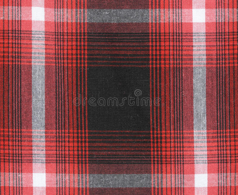 Gingham tablecloth texture background. Close up of gingham tablecloth fabric texture background stock photos