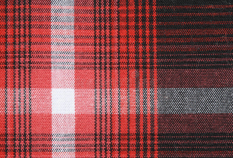 Gingham tablecloth texture background. Close up of gingham tablecloth fabric texture background royalty free stock photography