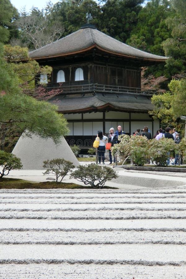 Ginkakuji на Киото в Японии стоковая фотография