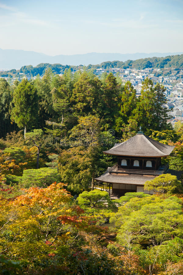 Ginkakuji (Silver Pavilion) is a Zen temple along Kyoto s easter