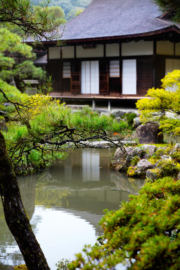 Free Ginkakuji Temple Stock Photo - 64651610