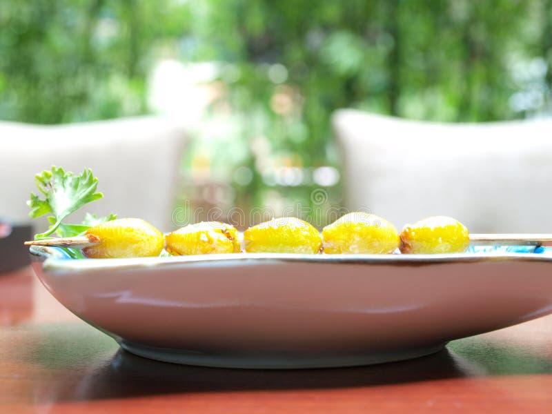 Ginkgomutteren-Küche stockbild