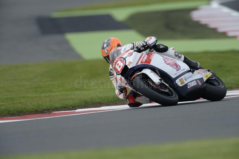 Gino rea, moto 2, 2012 arkivbild