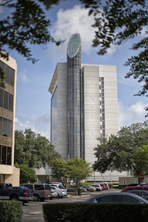 Ginsburg строя больницу Флориды стоковое изображение rf