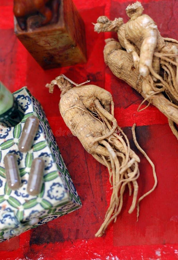Ginseng photo libre de droits