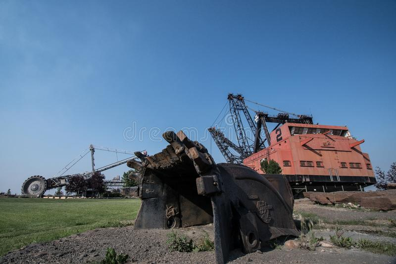 Gints του οχυρού McMurry εκθεμάτων μεταλλείας στοκ εικόνα με δικαίωμα ελεύθερης χρήσης