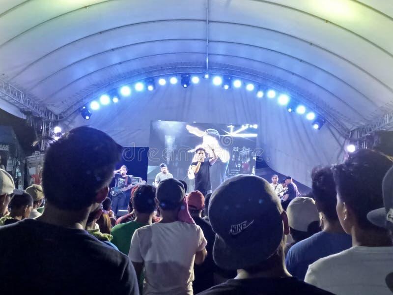 Ginuman fest, Cauayan, Filippijnen royalty-vrije stock afbeelding