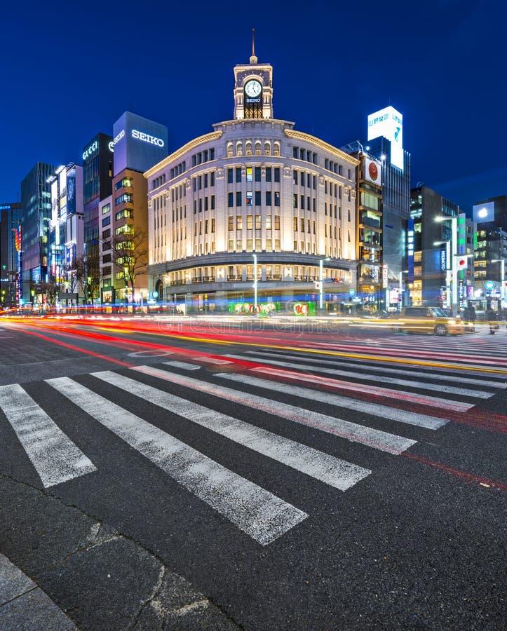 Ginza photographie stock libre de droits