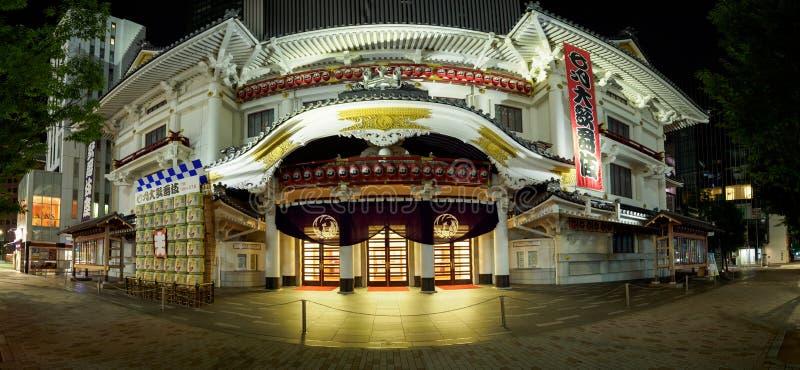 GINZA KABUKIZA, Tokio Japonia zdjęcia stock