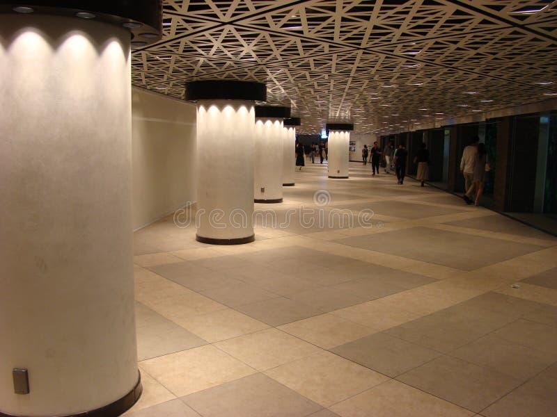 Ginza subway royalty free stock image