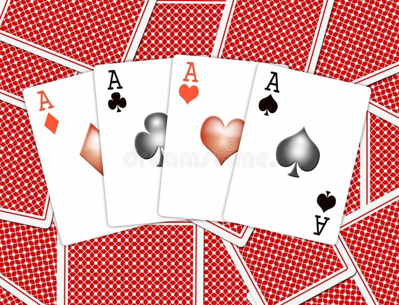 Giocare-schede royalty illustrazione gratis