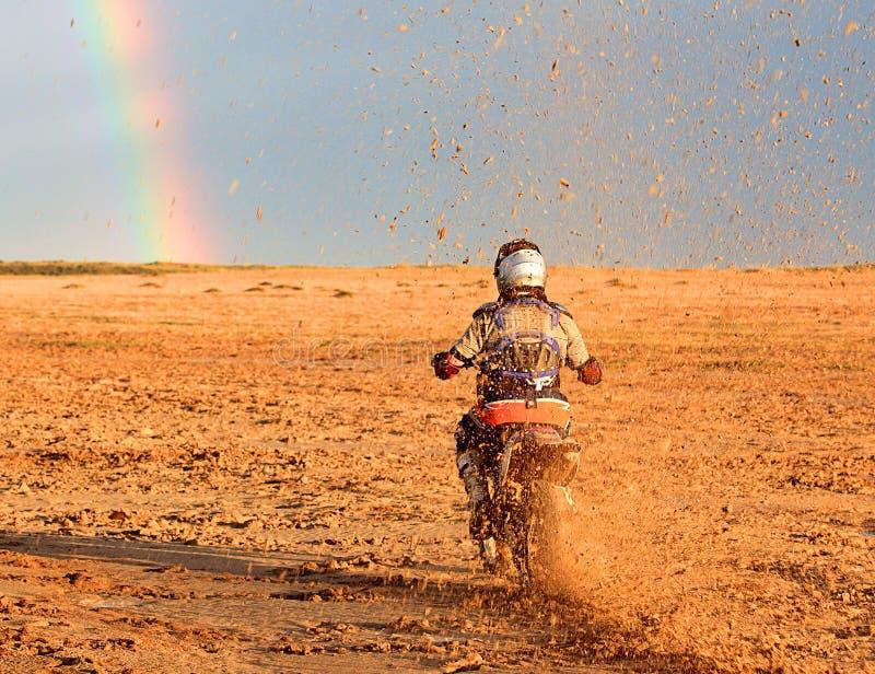 giocatore del motociclo fotografia stock libera da diritti