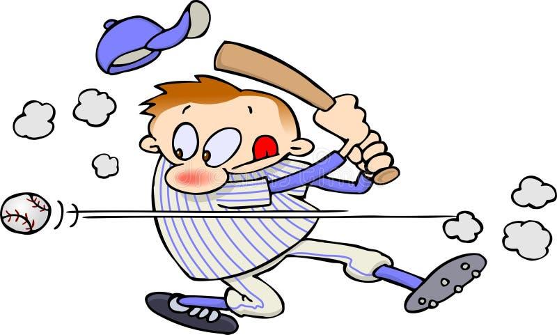 Giocatore di baseball illustrazione vettoriale
