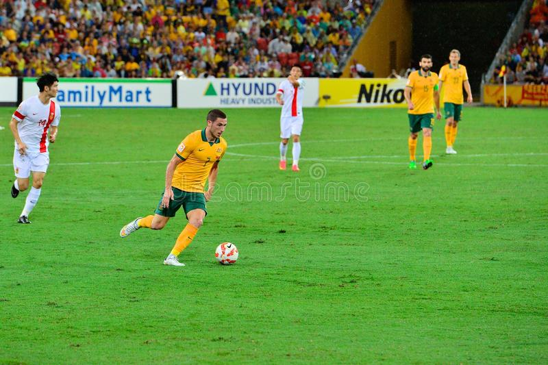 Giocatore di football americano australiano immagini stock libere da diritti