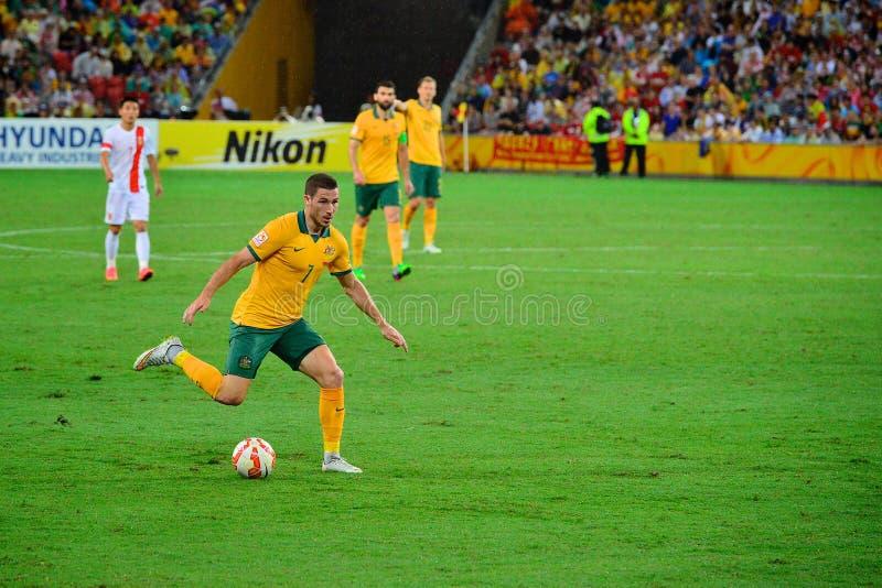 Giocatore di football americano australiano immagine stock libera da diritti