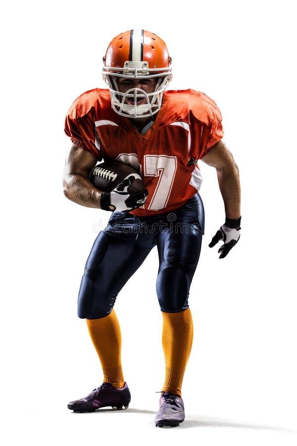 Giocatore di football americano di Americam fotografia stock