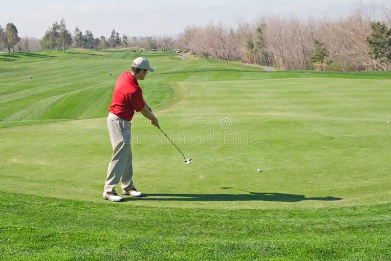 Giocatore di golf immagine stock libera da diritti