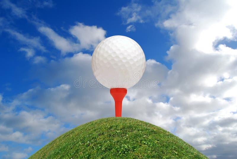 Giocatore di golf superiore immagini stock libere da diritti