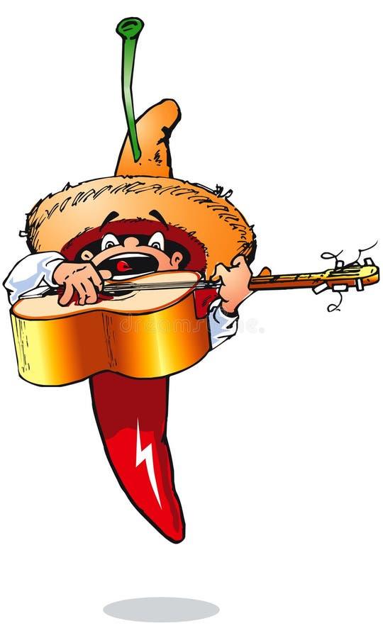 Giocatore di musica dei peperoncini rossi - Huanito