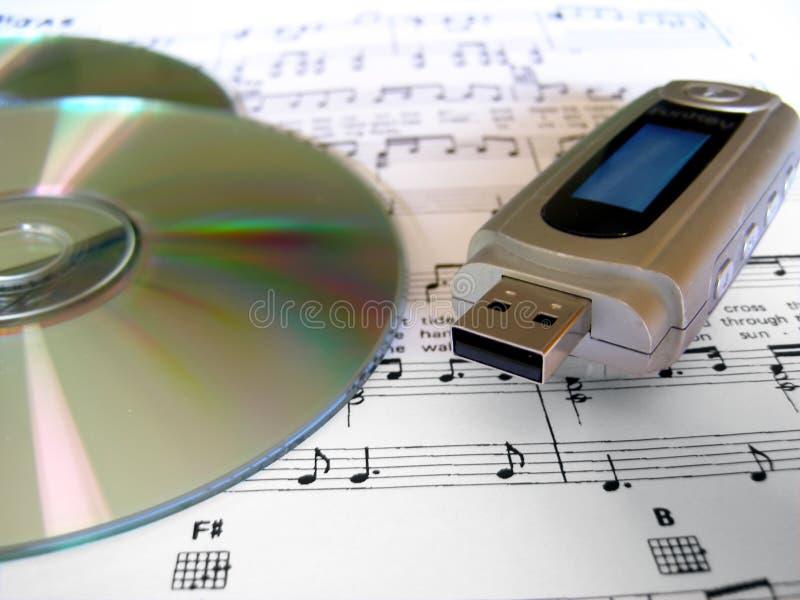 Giocatore di musica del MP3 iPod immagine stock libera da diritti