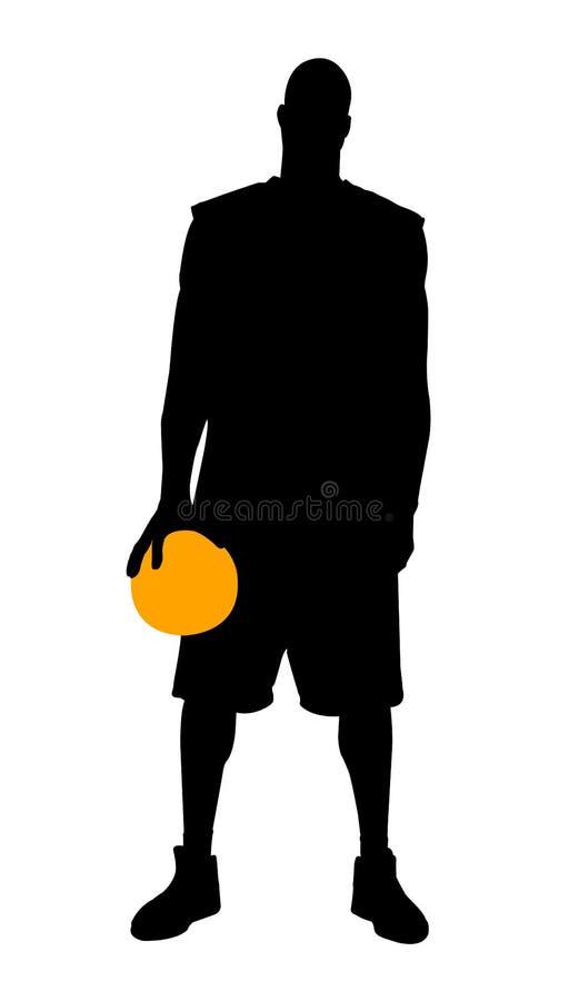 Download Giocatore di pallacanestro illustrazione vettoriale. Illustrazione di background - 7300201