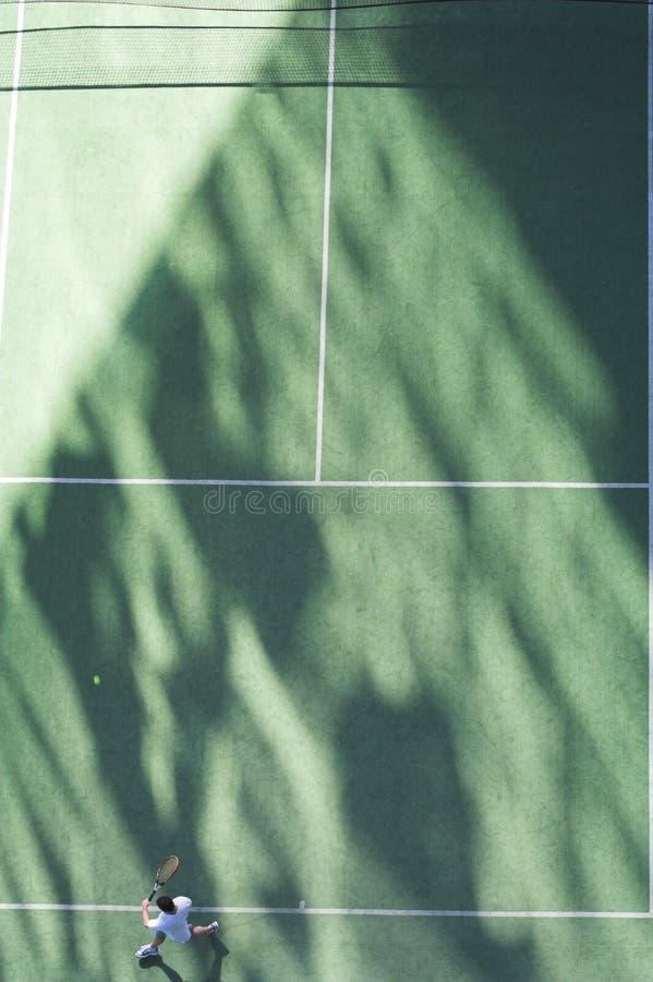 Giocatore di tennis immagine stock libera da diritti