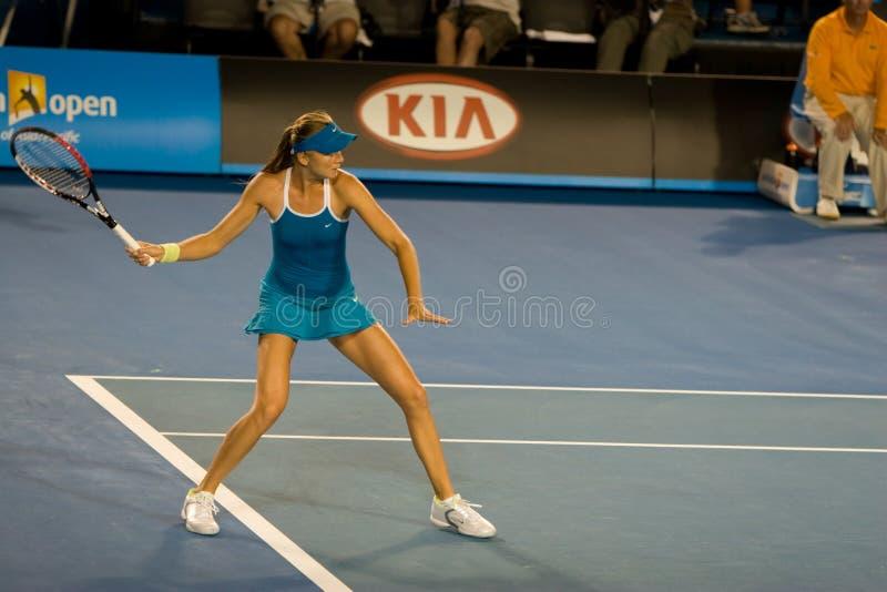 Giocatore di tennis slovacco Daniela Hantuchova fotografie stock libere da diritti