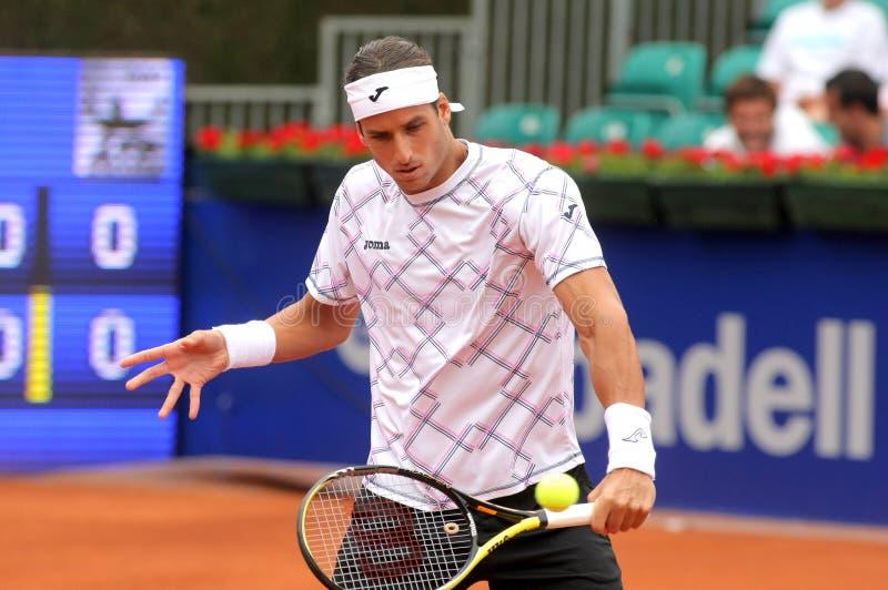 Giocatore di tennis spagnolo Feliciano Lopez fotografie stock
