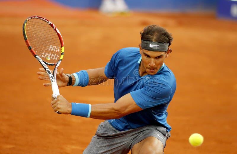 Giocatore di tennis spagnolo Rafa Nadal fotografie stock