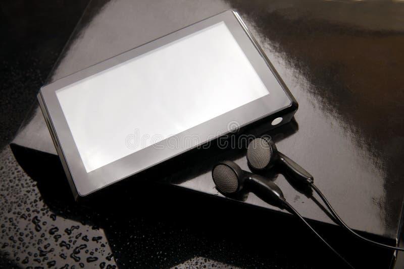 Giocatore MP4 fotografia stock libera da diritti
