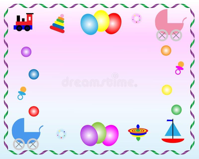 Giocattoli del bambino royalty illustrazione gratis