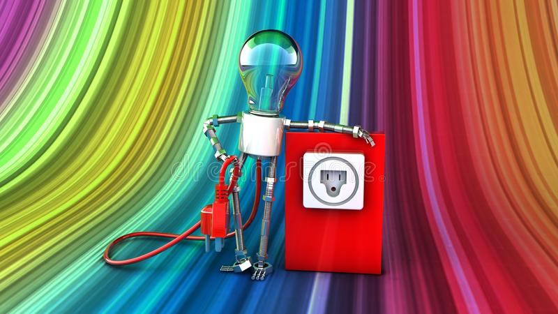Giocattoli della lampada del giocattolo fotografie stock libere da diritti