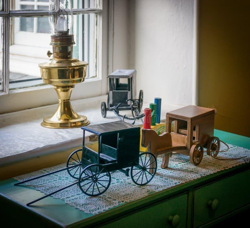 Giocattoli di Amish fotografia stock