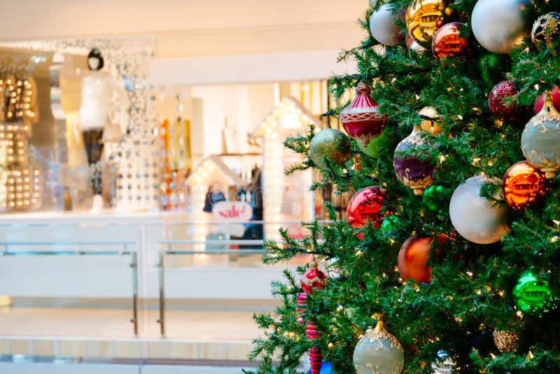 Giocattoli e vendita di tempo di Natale fotografia stock libera da diritti