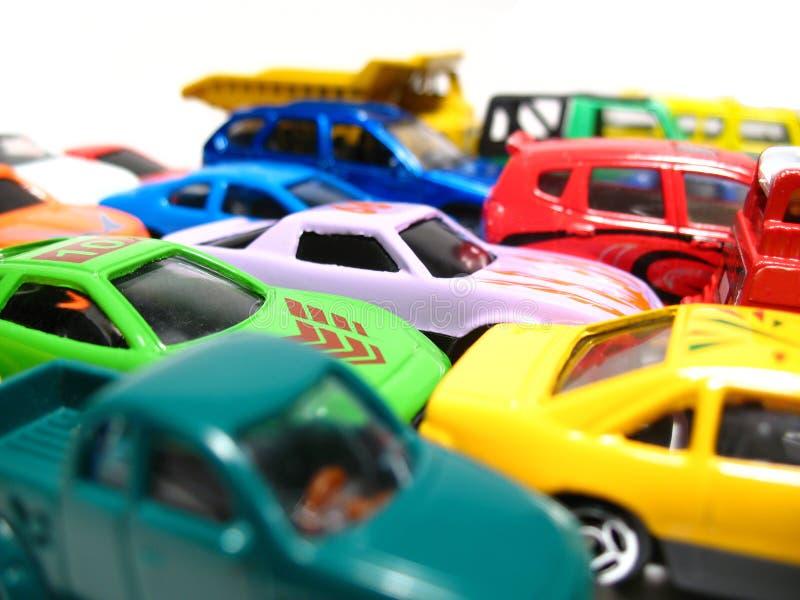 Giocattolo-automobili fotografia stock