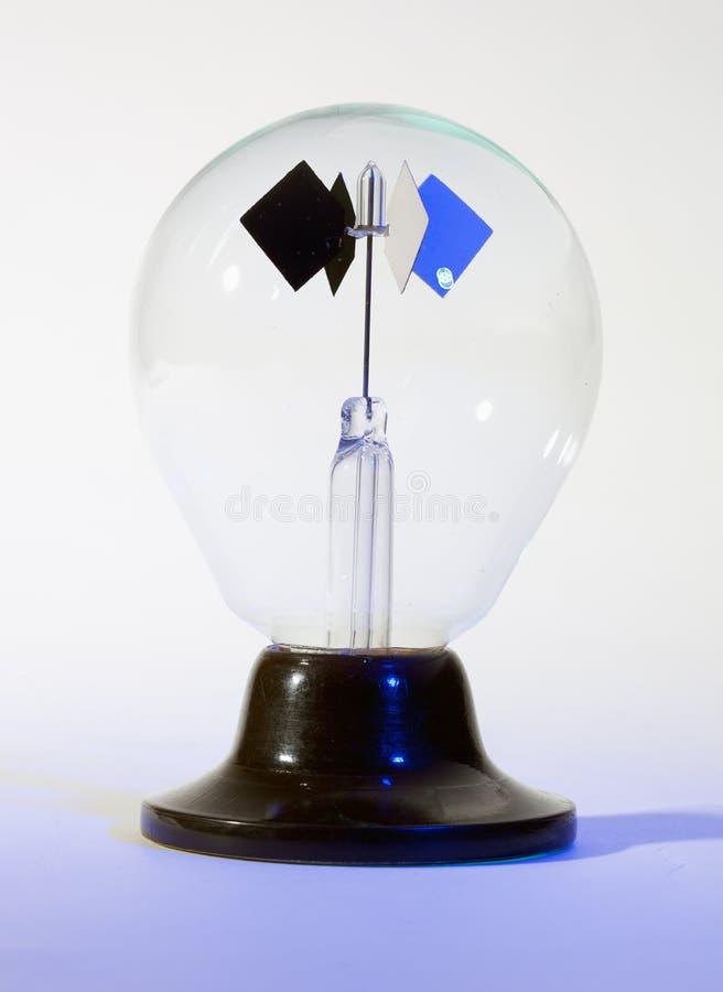 Giocattolo chiaro di scienza del filatore del fotone; isolato fotografia stock libera da diritti