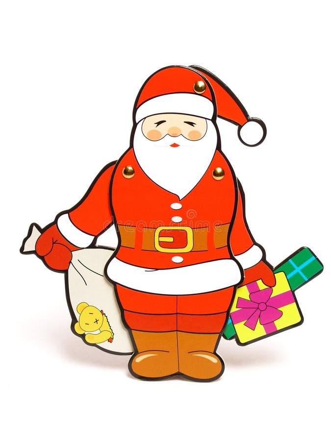 Giocattolo del Babbo Natale fotografie stock libere da diritti