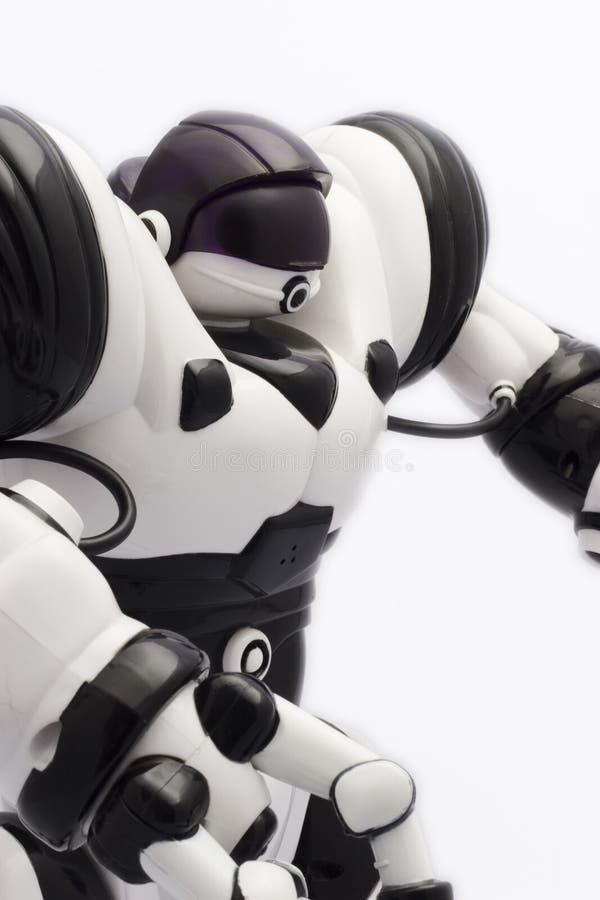 Giocattolo del robot fotografia stock libera da diritti