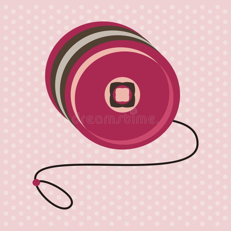Giocattolo del yo-yo royalty illustrazione gratis