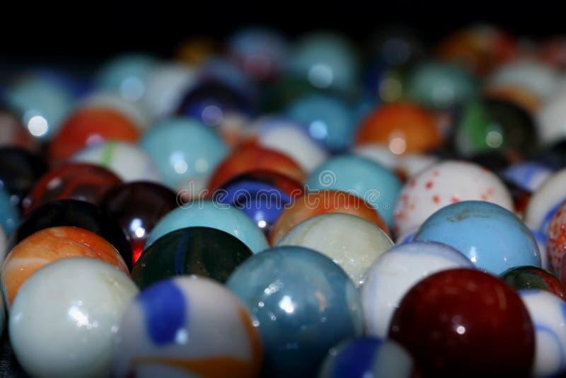 Giocattolo di marmo del taw per i bambini fotografia stock libera da diritti