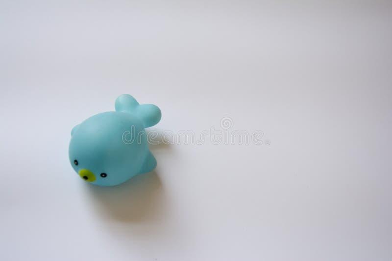 giocattolo per delfini blu fotografia stock libera da diritti