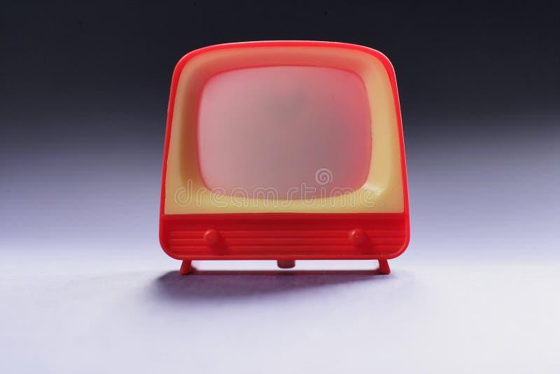 Giocattolo TV fotografie stock