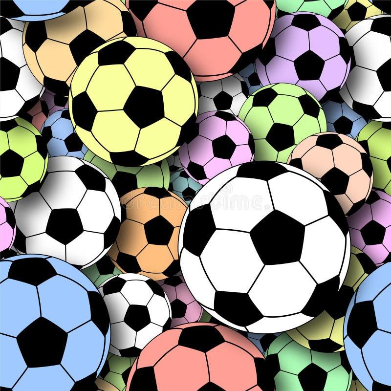 Giochi del calcio illustrazione vettoriale