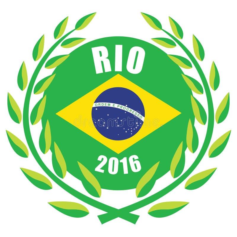 Giochi 2016 di Rio Olympic illustrazione vettoriale