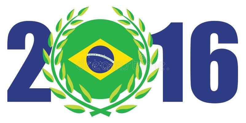 Giochi 2016 di Rio Olympic illustrazione di stock