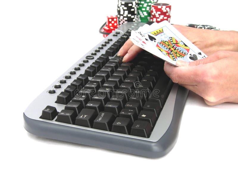 Giochi online immagini stock
