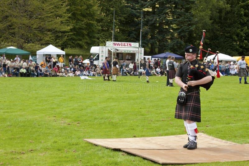 Giochi Scozia dell'altopiano fotografie stock