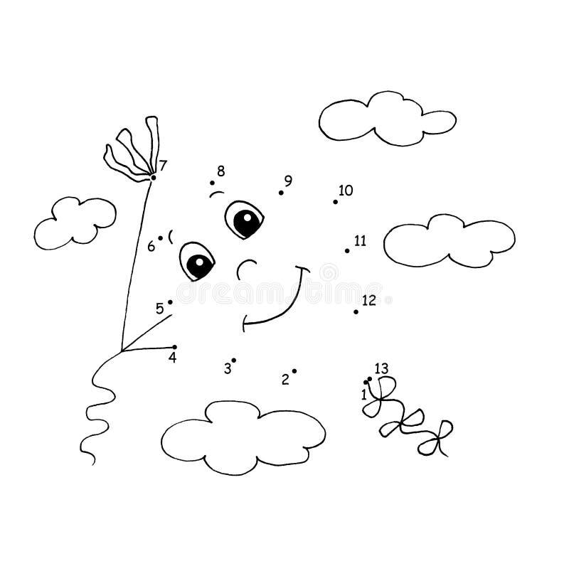 Gioco 14 - Il cervo volante illustrazione di stock